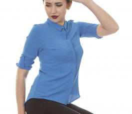 Women's shirt blue
