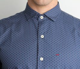 Men's shirt bluish