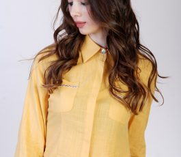 Women's shirt yellow