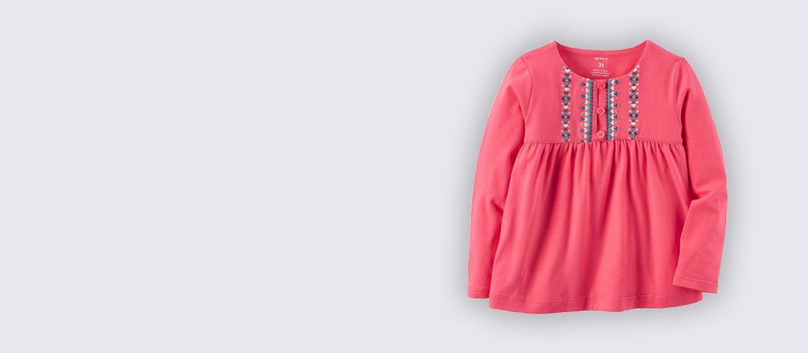 Embroidered Babydoll – Kid