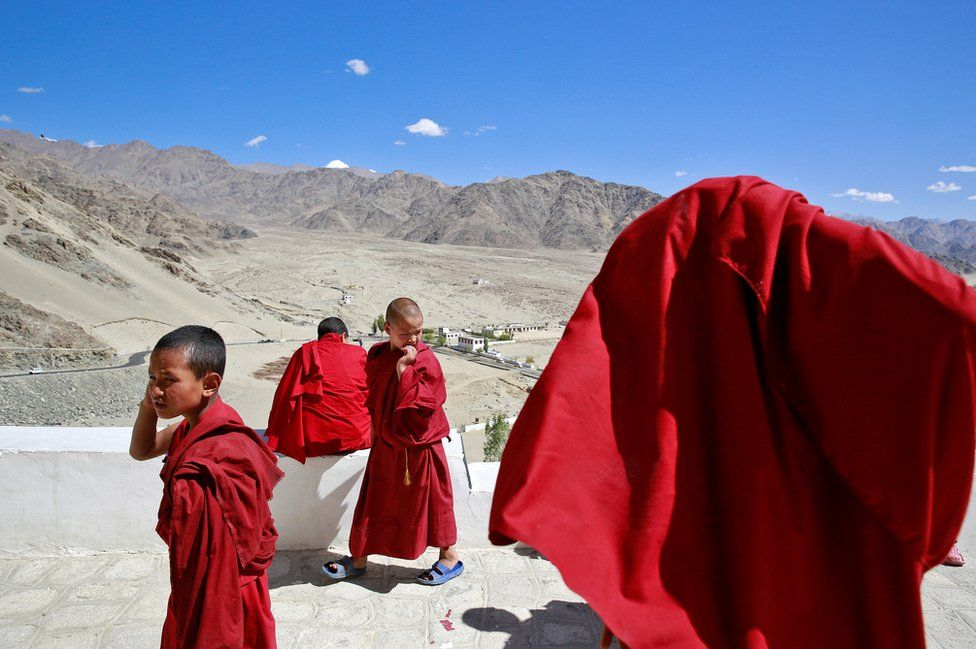 Child monks of the Himalayas