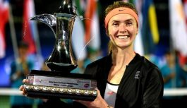 Elina Svitolina beats Caroline Wozniacki to win Dubai Championships