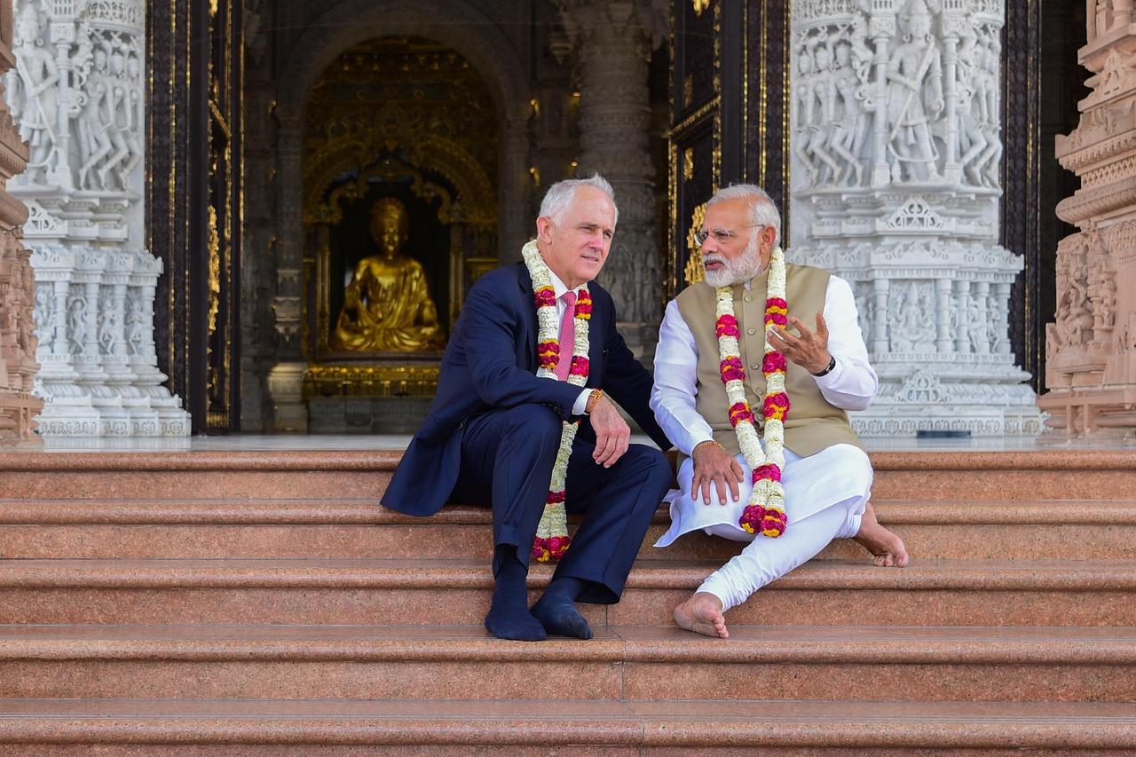 India's Modi meets Canada PM